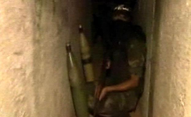 אלג'זירה מציגה: רקטות ומנהרה (צילום: אלג'זירה)