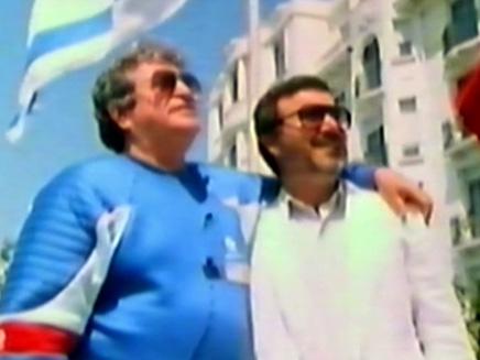 """""""השלמנו אחד את השני"""". גלובוס וגולן (צילום: חדשות 2)"""