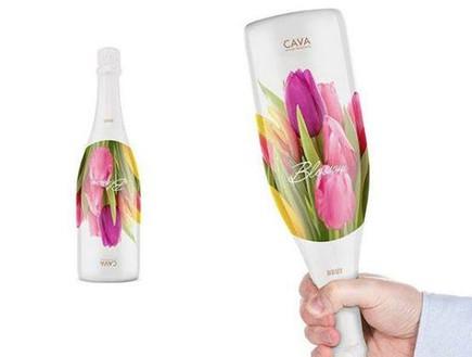 החמישייה 12.8 - בקבוק פרחים