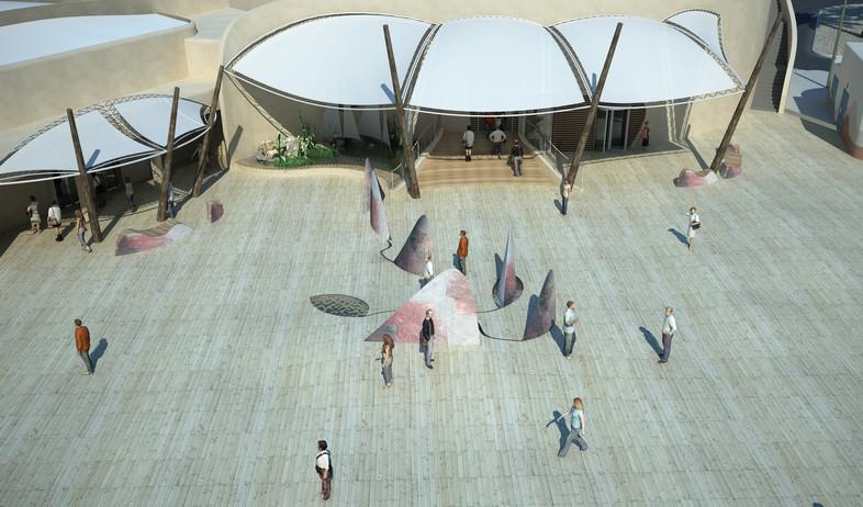 בריכת כרישים,  פארק המצפה התת- ימי ו- AQWA The Aquarium (צילום:  none,  יחסי ציבור )