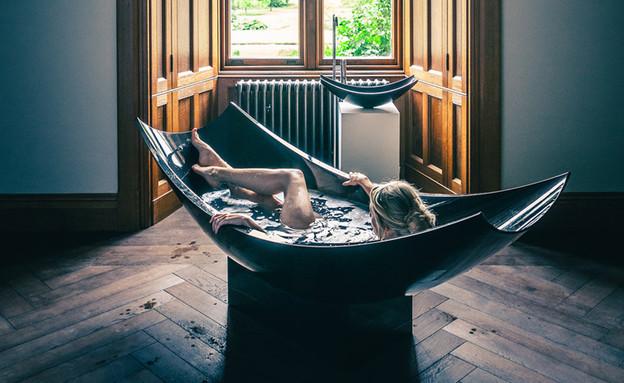ספלינטר אמבטיה וכיור (צילום: stephane rocher)