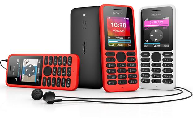 הטלפון הסלולרי נוקיה 130 של מיקרוסופט (צילום: מיקרוסופט)