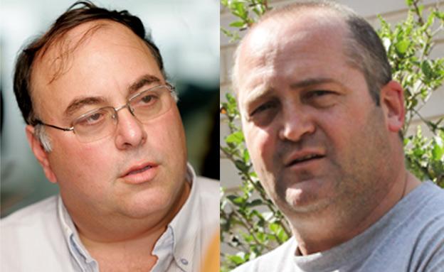 יועמדו לדין? וינר ובניהו (צילום: Moshe Shai/Yossi Zamir/Flash 90)