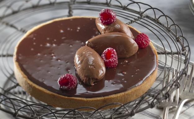 טארט שוקולד (צילום: אנטולי מיכאלו, אוכל טוב)