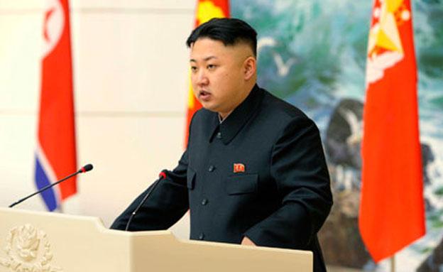 שליט קוריאה הצפונית, קים ג'ונג און (צילום: רויטרס)