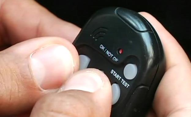 צפו:המכשיר שיימנע נהיגה בשכרות? (צילום: חדשות 2)