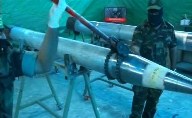"""צפו: """"ייצור רקטות ארוכות טווח בזמן הלחימה"""""""