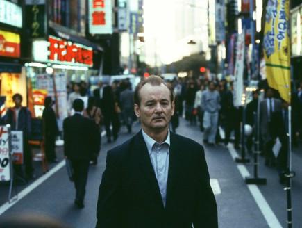 בדידות - ביל מאריי מתוך אבודים בטוקיו (צילום: צילום מסך)