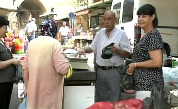 עסקים במגזר הערבי (צילום: חדשות 2)