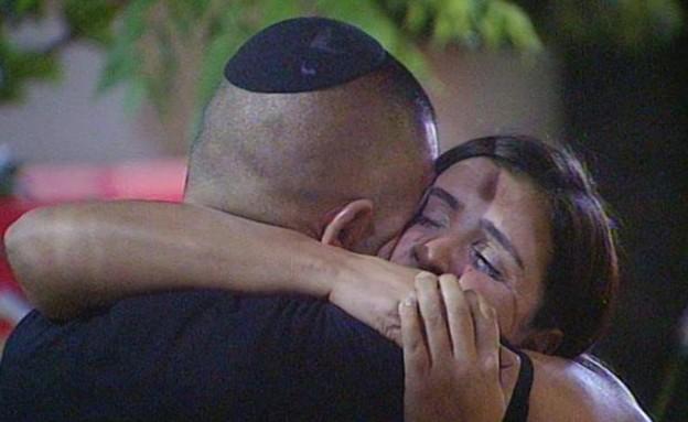 עינב פוגשת את בעלה ומפילה את המשימה (תמונת AVI: אורטל דהן, שידורי קשת)