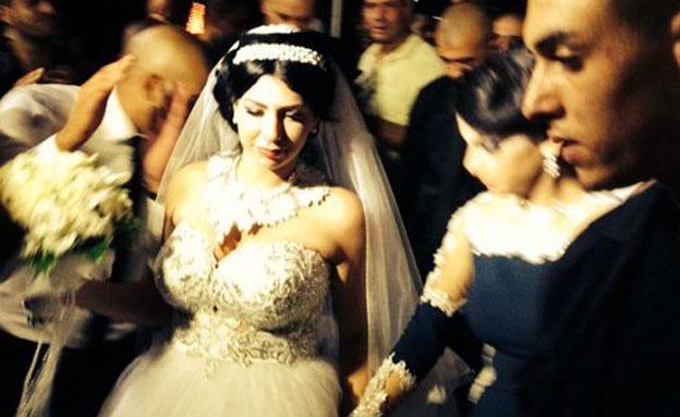 צפו: כך נראתה חגיגת הנישואים של מורל ומחמוד (צילום: סמי קומע)