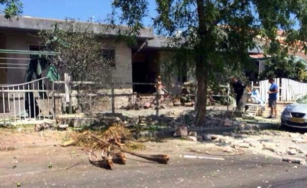 ירי הרקטות לדרום לא מפסיק (צילום: גיא נובוטני, חדשות 2)