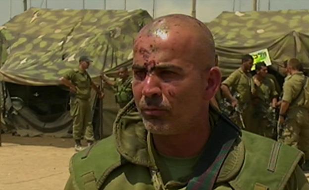 מפקד החטיבה עליאן שנפצע גם הוא