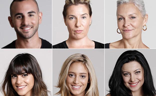 מועמדים להדחה - מרטין, טל, לינור, דנית, נופר ואחי (צילום: יריב פיין וגיא כושי)
