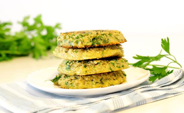 חביתיות קינואה (צילום: שרית נובק - מיס פטל, אוכל טוב)