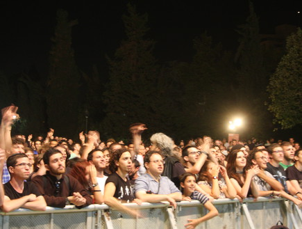 אורפנד לנד בהופעה בירושלים