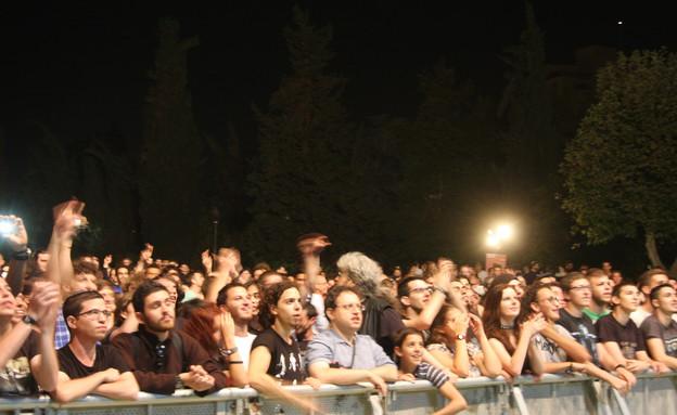 אורפנד לנד בהופעה בירושלים (צילום: פול סגל)