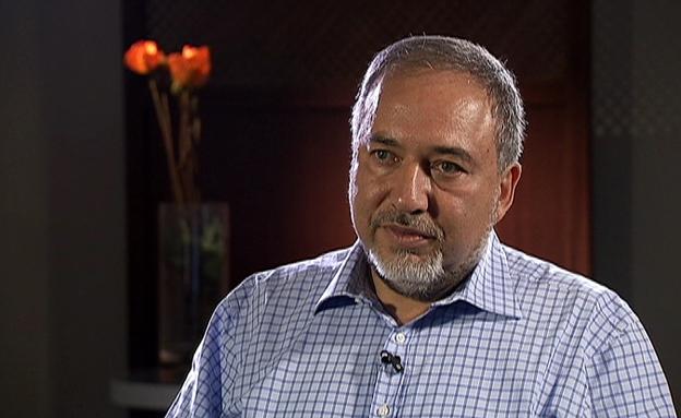 צפו בריאיון עם שר החוץ ליברמן (צילום: חדשות 2)