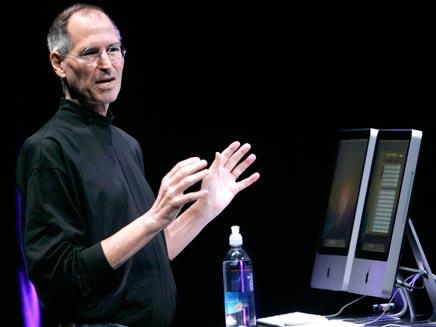 """ג'ובס לא ידע שהמחשב קיים"""" (צילום: רויטרס)"""