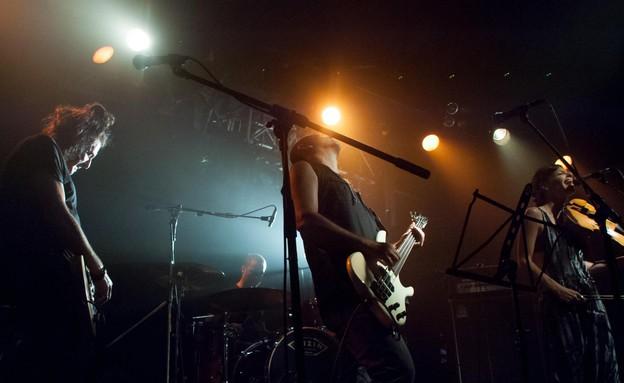 נקמת הטרקטור הופעה (צילום: יובל אראל)