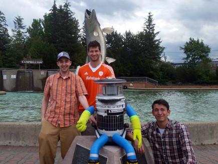 רובוט תופס טרמפים
