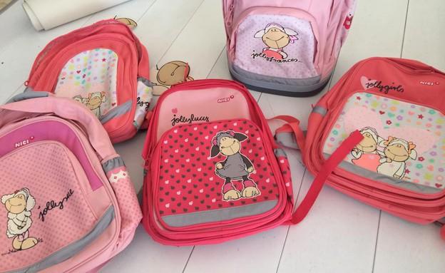 התיקים של גלי ליבנה (צילום:  Photo by Flash90, פייסבוק)