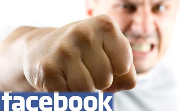 אלימות בפייסבוק (צילום: FuzzBones, Shutterstock)