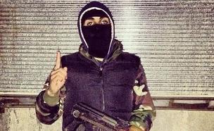טרוריסטים מאירופה - ג'ון הגיהאדיסט (צילום: צילום מסך)