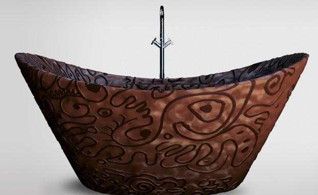 אמבטיית שוקולד (צילום: bathrooms)