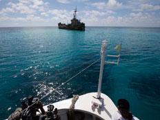 החיפושים באוקיינוס אחר המטוס (צילום: AP)