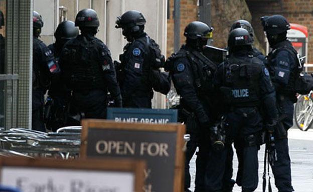 כוננות טרור בלונדון, ארכיון (צילום: AP)