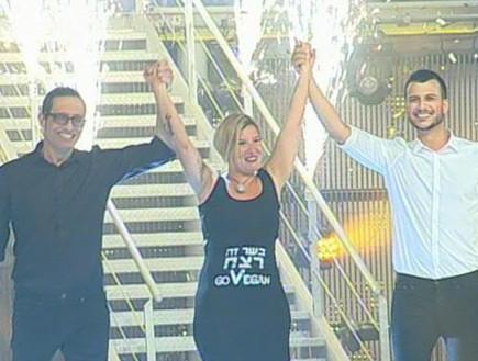 הזוכה הגדולה (תמונת AVI: אורטל דהן, שידורי קשת)