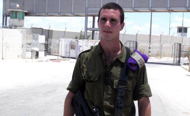 השחקן בסרטון התעמולה של חמאס (צילום: חדשות 2)