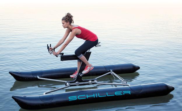 לדווש על המים (צילום: schiller sport inc )