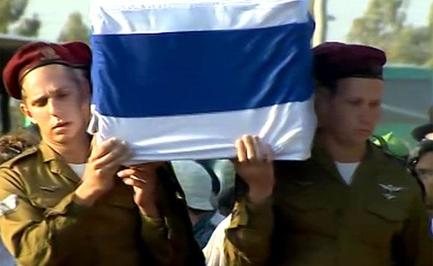 הלוויה של שחר שלו (צילום: חדשות 2)
