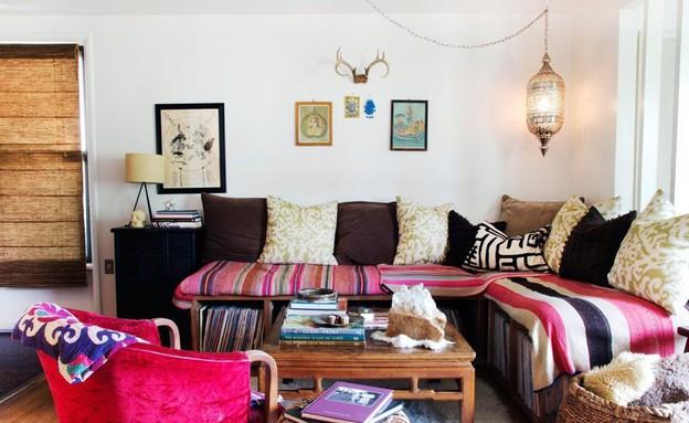 הבית של כריסטינה סימון (צילום:  Adrienne Breaux דרך apartmenttherapy.com )