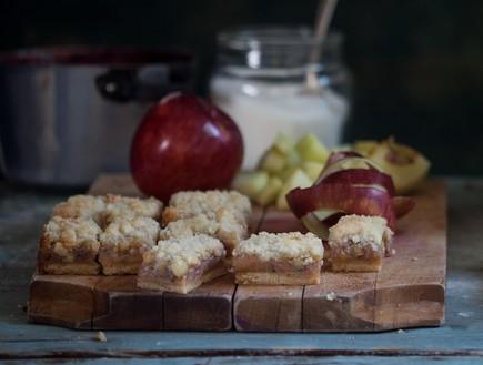 חיתוכיות אגוזים, תפוחי עץ ושטרויזל, מיקי שמו