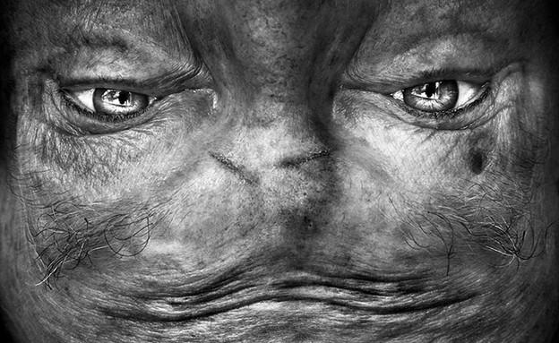 פורטרטים חייזרים (צילום: אנליה לובסר)