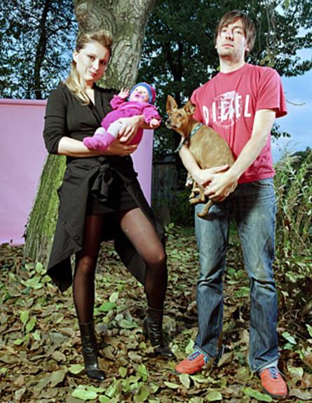 דיטה ובני הזוג שלה