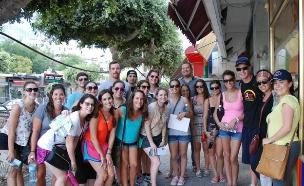 תיירים בארץ (צילום: נאוה מרקו)