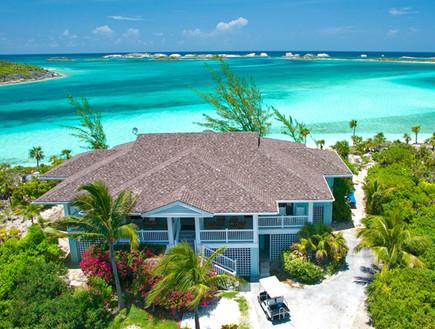 אתרי נופש באיים פרטיים (צילום: fowlcay.com)