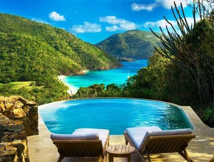 אתרי נופש באיים פרטיים (צילום: guana.com)