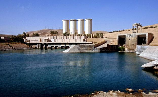 סכר בעירק, ארכיון (צילום: AP)