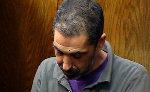 אילן בן עמי בבית המשפט, הבוקר (צילום: חדשות 2)