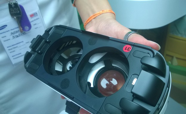 Gear VR (צילום: יאיר מור, ברלין)