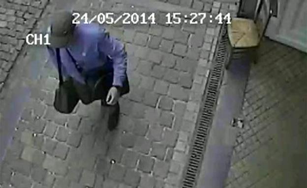המחבל ביום הפיגוע בבריסל