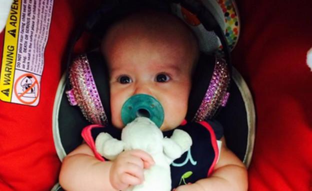 למי שייכת התינוקת המוזיקלית הזאת? (צילום: טוויטר)