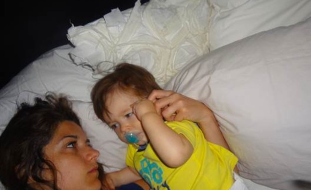 תנוחות שינה עם תינוק 1,2,3 (צילום: פטריס פוזנר, צילום מסך)