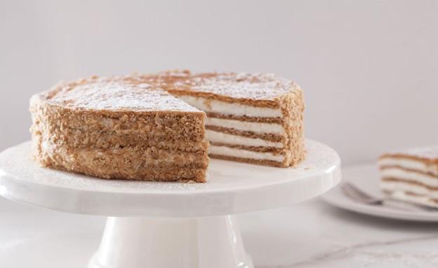 ריז'יק, עוגת שכבות רוסית  (צילום: אפיק גבאי, אוכל טוב)