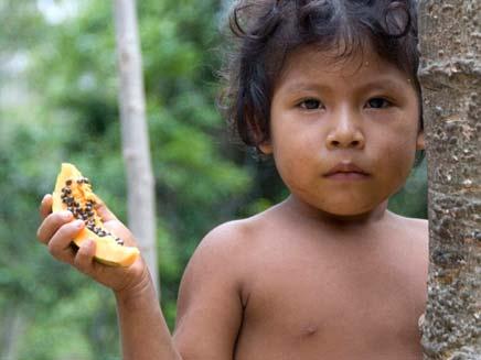 מגנים על עתיד הילדים (צילום: survival international)
